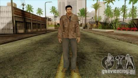 Classic Alex Shepherd Skin without Flashlight для GTA San Andreas