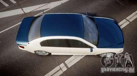 Ubermacht Oracle XS Sport для GTA 4 вид справа