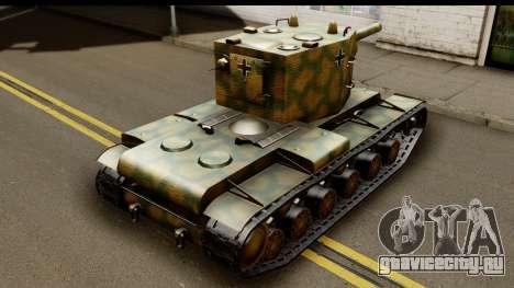 KV-2 German Captured для GTA San Andreas вид слева