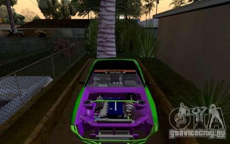DGTK Elegy v1 для GTA San Andreas вид справа