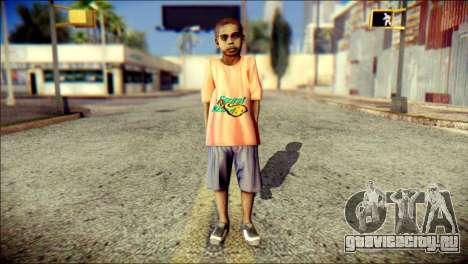 Madison Child Skin для GTA San Andreas