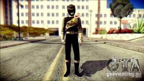 Power Rangers Kyoryu Black Skin для GTA San Andreas
