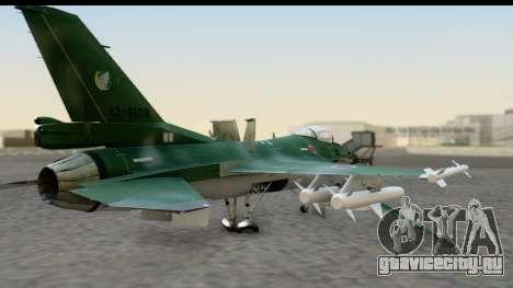 F-2A Zero Dark Green для GTA San Andreas вид слева