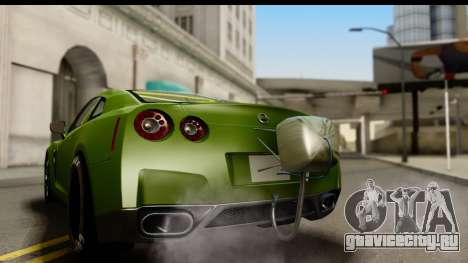 Nissan GT-R Dragster для GTA San Andreas вид справа