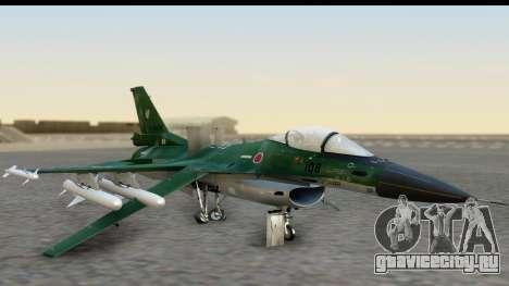 F-2A Zero Dark Green для GTA San Andreas