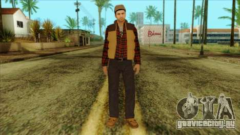 Big Rig Alex Shepherd Skin without Flashlight для GTA San Andreas