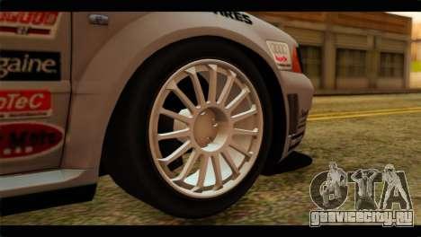 Audi S4 B5 2002 Champion Racing для GTA San Andreas вид сзади слева