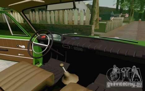 ВАЗ-2801 для GTA San Andreas вид сзади