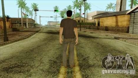 Young Alex Shepherd Skin without Flashlight для GTA San Andreas второй скриншот