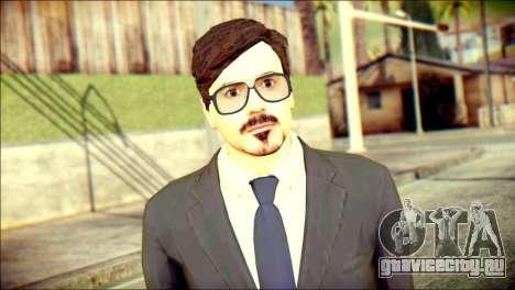 Tony Stark Skin для GTA San Andreas третий скриншот