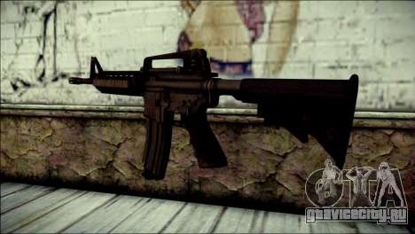 Rumble 6 Assault Rifle для GTA San Andreas второй скриншот