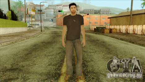 Young Alex Shepherd Skin without Flashlight для GTA San Andreas