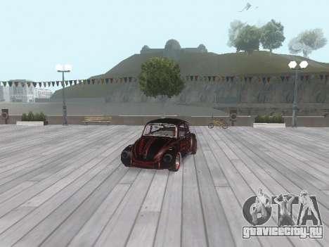 Volkswagen Super Beetle Grillos Racing v1 для GTA San Andreas колёса