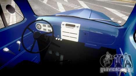 Ford F-1 1949 4WD для GTA 4 вид сзади
