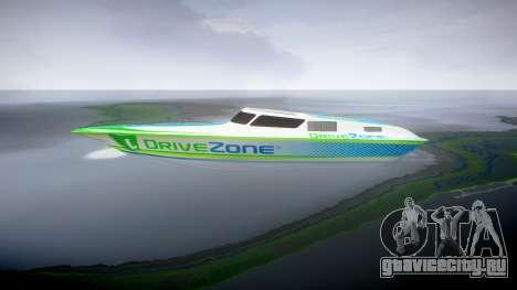 Моторная лодка для GTA 4 вид слева