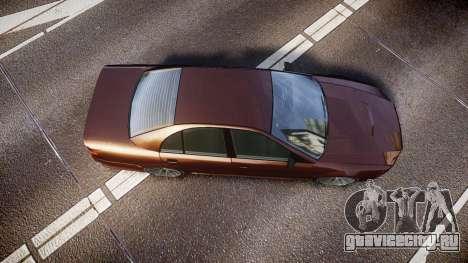 Maibatsu Vincent 16V Tuned для GTA 4 вид справа