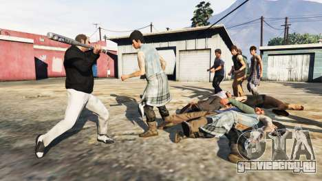Враждебные педы для GTA 5 второй скриншот