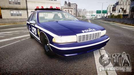 Chevrolet Caprice 1993 LCPD WoH Auxiliary [ELS] для GTA 4