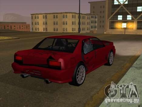 Sultan GunkinModding для GTA San Andreas вид сзади