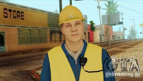 Takedown Redsabre NPC Shipworker v1 для GTA San Andreas третий скриншот