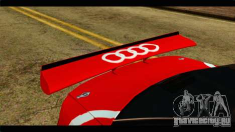 Audi S4 B5 2002 Champion Racing для GTA San Andreas вид сзади