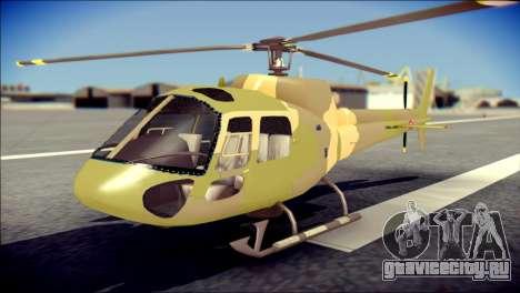 Esquilo 350 Fuerza Aerea Paraguaya для GTA San Andreas
