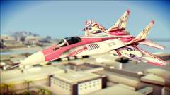 MIG-29 Shrine Maiden Hiragi для GTA San Andreas
