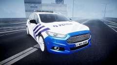 Ford Fusion Estate 2014 Belgian Police [ELS]