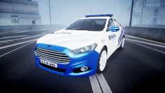 Ford Fusion 2014 Belgian Police [ELS]