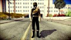 Power Rangers Kyoryu Black Skin