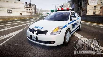 Nissan Altima Hybrid NYPD для GTA 4