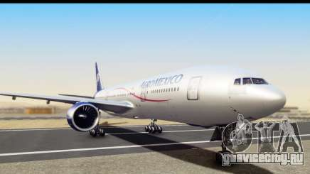 Boeing 777-200ER AeroMexico для GTA San Andreas