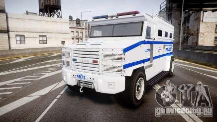 GTA V Brute Police Riot [ELS] skin 4 для GTA 4