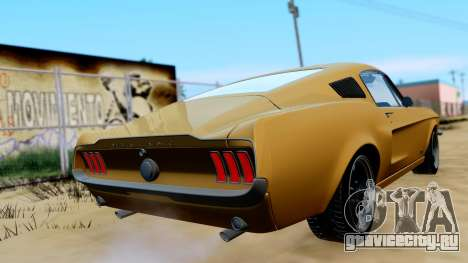 Shelby Mustang GT 1967 для GTA San Andreas вид слева
