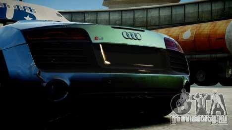 Audi R8 Spyder 2014 [EPM] для GTA 4 вид справа