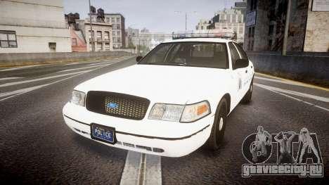 Ford Crown Victoria Metropolitan Police [ELS] для GTA 4