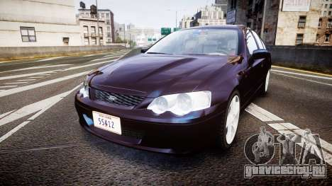 Ford Falcon XR8 2004 Unmarked Police [ELS] для GTA 4