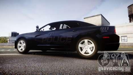 Dodge Charger LC Police Stealth [ELS] для GTA 4 вид слева