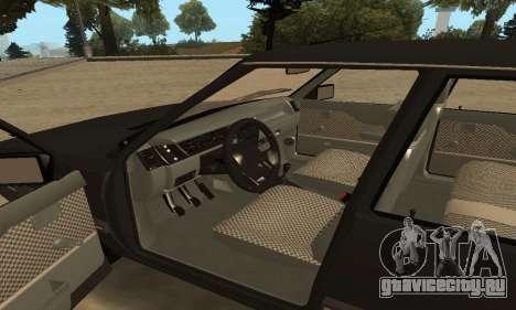 Renault 9 TSE 1992 для GTA San Andreas вид сверху