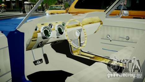 Ford Mustang 1967 для GTA 4 вид сзади