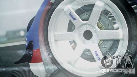 Volvo S60 Racing для GTA San Andreas вид сзади слева