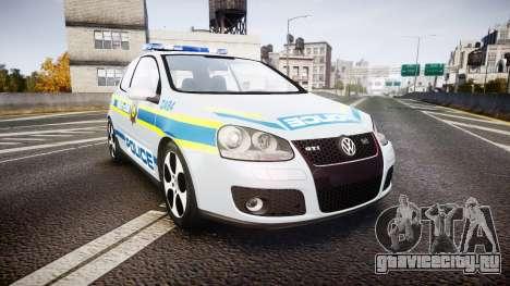 Volkswagen Golf South African Police [ELS] для GTA 4