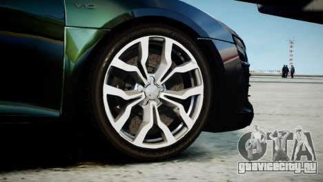 Audi R8 Spyder 2014 [EPM] для GTA 4 вид сзади слева