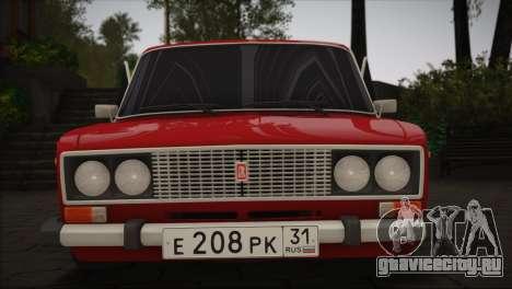 ВАЗ 2106 MansorY для GTA San Andreas вид слева
