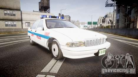 Chevrolet Caprice Liberty Police v2 [ELS] для GTA 4