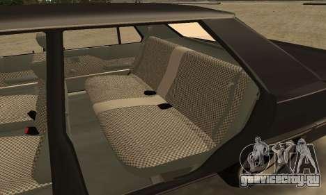Renault 9 TSE 1992 для GTA San Andreas вид снизу