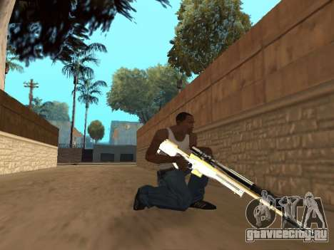 Chameleon Weapon Pack для GTA San Andreas седьмой скриншот
