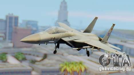 F-15C Eagle Luftwaffe JG 73 для GTA San Andreas
