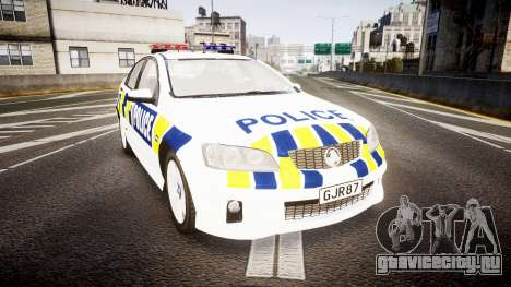Holden VE Commodore SS Police HWP [ELS] для GTA 4