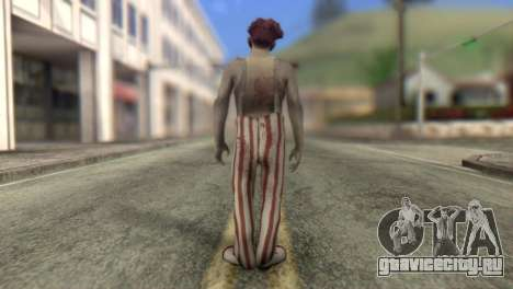 Zombie Clown from Left 4 Dead 2 для GTA San Andreas второй скриншот